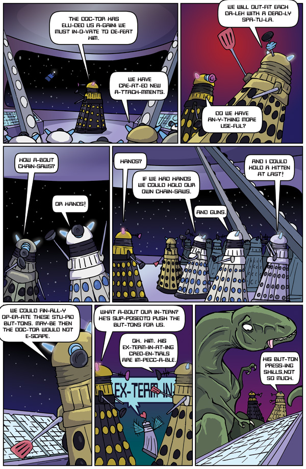 Daleks and Chainsaws